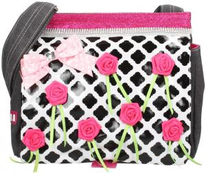 Zebra Trends Roses Canvas Kindertas Roses