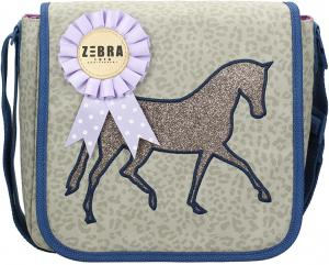 Zebra Trends Paard Kinderflaptas Paard Brown Kindertas