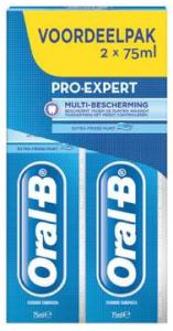 Oral-b Tandpasta - Pro-expert Sensitive + Whitening 2x75 Ml