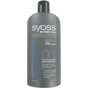 Syoss Shampoo Men - Anti Roos 500 Ml (5410091685386)