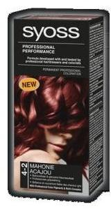 Syoss Professional Performance Haarverf Nr. 4-2 Mahogany Bruin (5410091698034)