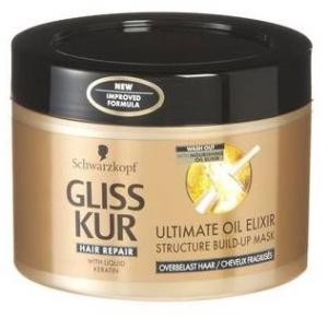 Schwarzkopf Gliss Kur Direct Masker - Ultimate Oil Elixir 200 Ml