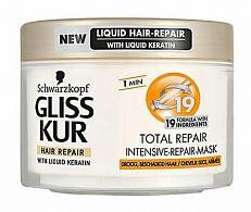 Schwarzkopf Gliss Kur Masker - Total Repair 19 200 Ml