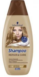 Schwarzkopf Shampoo - Repair + Care 400 Ml
