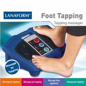 Lanaform Foot Tapping Massageapparaat Rood