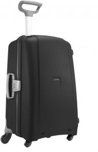 Samsonite Aeris Spinner 75 Black Harde Koffer