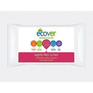 Ecover Multi Action Wipes Limoen Granaatappel - 40 Stuks