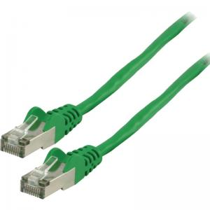 CAT6 S/FTP Netwerkkabel RJ45 8/8 Male - 0.50 M Groen