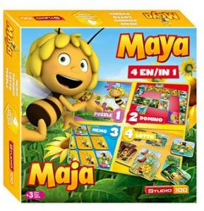 Spel 4 In 1 Maya: Oa Domino En Lotto Mema00000120