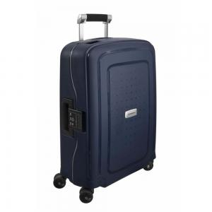 Samsonite S DLX Spinner 55/20 Midnight Blue Harde Koffer