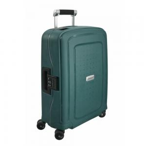 Samsonite S DLX Spinner 55/20 Metallic Green Harde Koffer