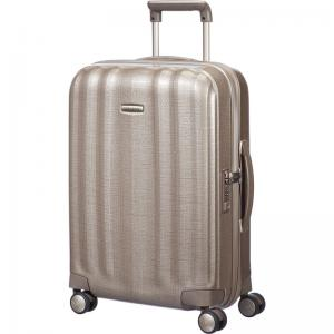 Samsonite Lite-Cube Spinner 55 Ivory Gold