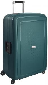 Samsonite S DLX Spinner 81 Metallic Green Harde Koffer