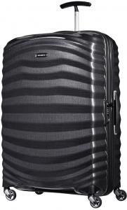 Samsonite Lite-Shock Spinner 75 Black Harde Koffer