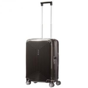 Samsonite Neopulse Spinner 55 Metallic Black Harde Koffer