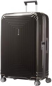 Samsonite Neopulse Spinner 75 Metallic Black Harde Koffer