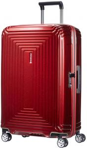 Samsonite Neopulse Spinner 69 Metallic Red Harde Koffer