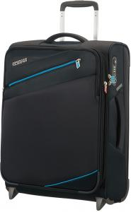 American Tourister Pikes Peak Upright 55 Expandable Volcanic Bla