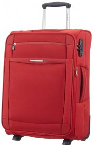 Samsonite Dynamo Upright 55 Expandable Red Zachte Koffer