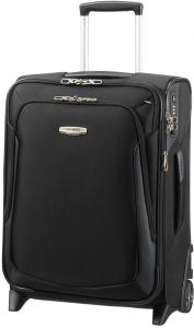 Samsonite X 3.0 Upright 55 Exp Black Zachte Koffer
