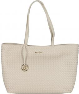 Beige Shopper Kisses Of Pearl Tess