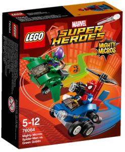 LEGO Super Heroes Mighty Micros: Spider-Man Vs Green Goblin 7606