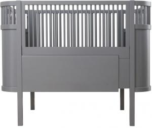 Kili Baby & Junior Bed Dark Grey