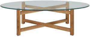 Scandes - Ansby Salontafel Transparant Hout