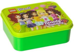 Lunchbox Lego Friends: Groen