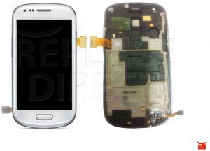 Samsung Galaxy S3 Mini Display Assembly Wit Voor GT-I8190
