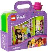 Lunchset Lego Friends: Groen