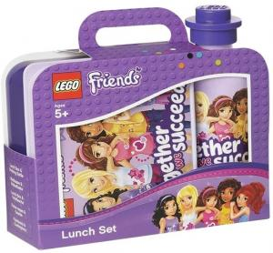 Lunchset Lego Friends: Paars