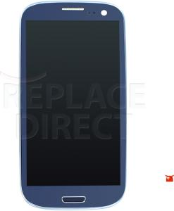 Samsung Galaxy S3 Neo LCD + Digitizer Assembly - Blue Voor GT-I9