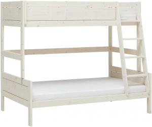 Stapelbed Family 90/120 - White Wash