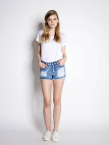 Pieces Denim Shorts