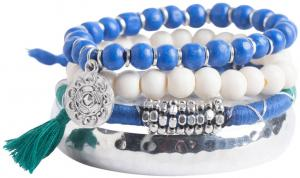 NU 15% KORTING: Pieces Multiparel Armband