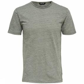 ONLY & SONS Korte Mouw T-shirt Heren Green