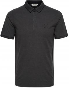 ONLY & SONS Effen Poloshirt Heren Zwart