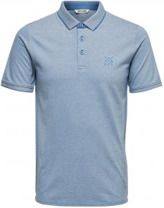 ONLY & SONS Effen Poloshirt Heren Grijs