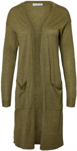 NOISY MAY Long Knitted Pullover Dames Green
