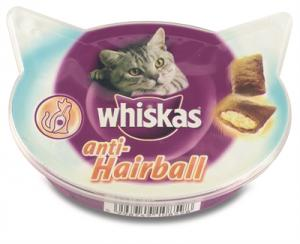 Whiskas Snack Hairbal 8 X 60 Gr