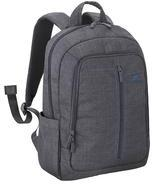 RivaCase 7560 Laptop Canvas Backpack 15.6 Grey