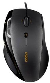 Rapoo N6200 Wired Optical Mouse Zwart