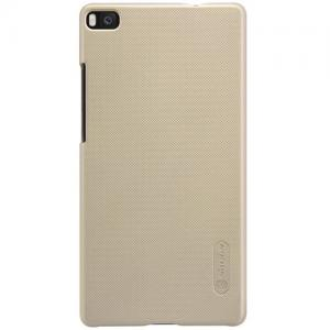 Nillkin - Huawei P8 Hoesje Back Case Frosted Shield Goud