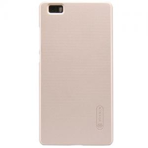 Nillkin - Huawei P8 Lite Hoesje Back Case Frosted Shield Goud