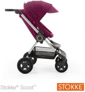 Wandelwagen Stokke Scoot V2 Purple