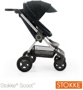 Wandelwagen Stokke Scoot V2 Black