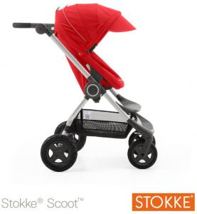 Wandelwagen Stokke Scoot V2 Red