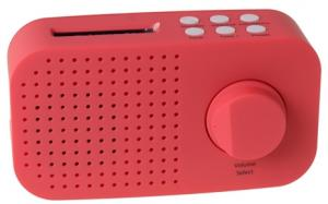 Tiny Audio Ami DAB+ Radio Rose Rood DAB