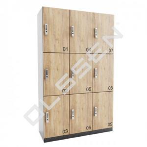 ARTA Lockerkast Met 9 Lockers 3x3